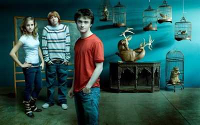 Emma Watson with Harry Potter Movie Crew HD Wide Wallpapers   HD Wallpapers   ID #62