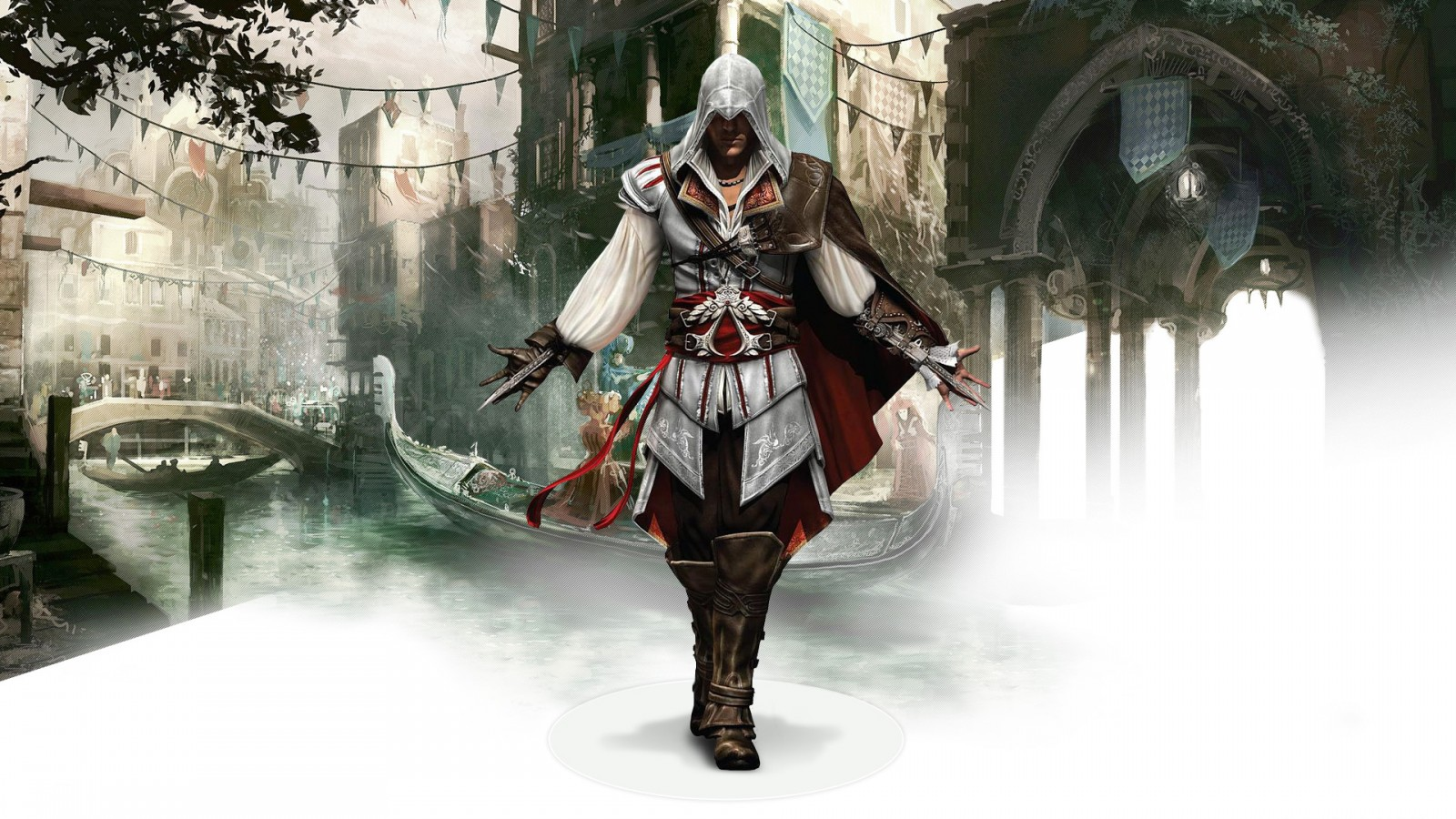 Beach Iphone Wallpaper Hd Ezio Auditore Da Firenze In Assassin S Creed 2 Wallpapers