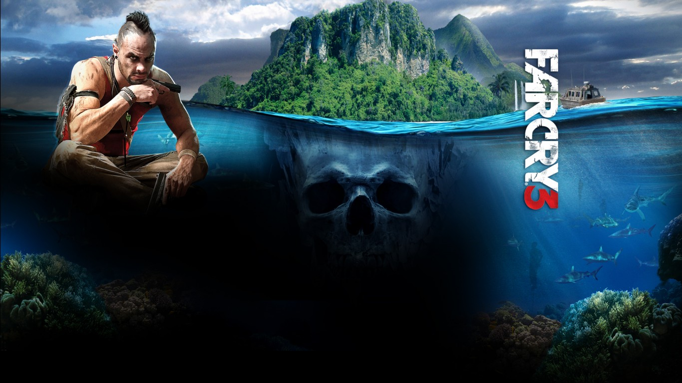 Iphone 5 Space Wallpaper Hd Far Cry 3 Game Wallpapers Hd Wallpapers Id 12003