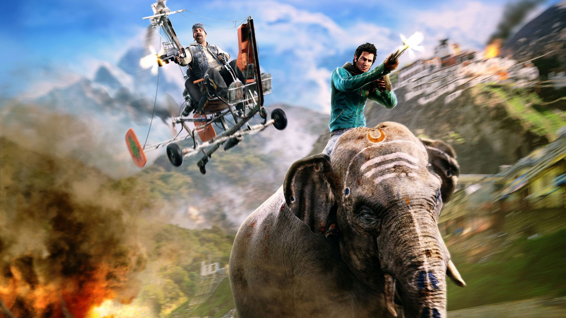 3d Wallpaper Of Dogs Far Cry 4 Wallpapers Hd Wallpapers Id 14528