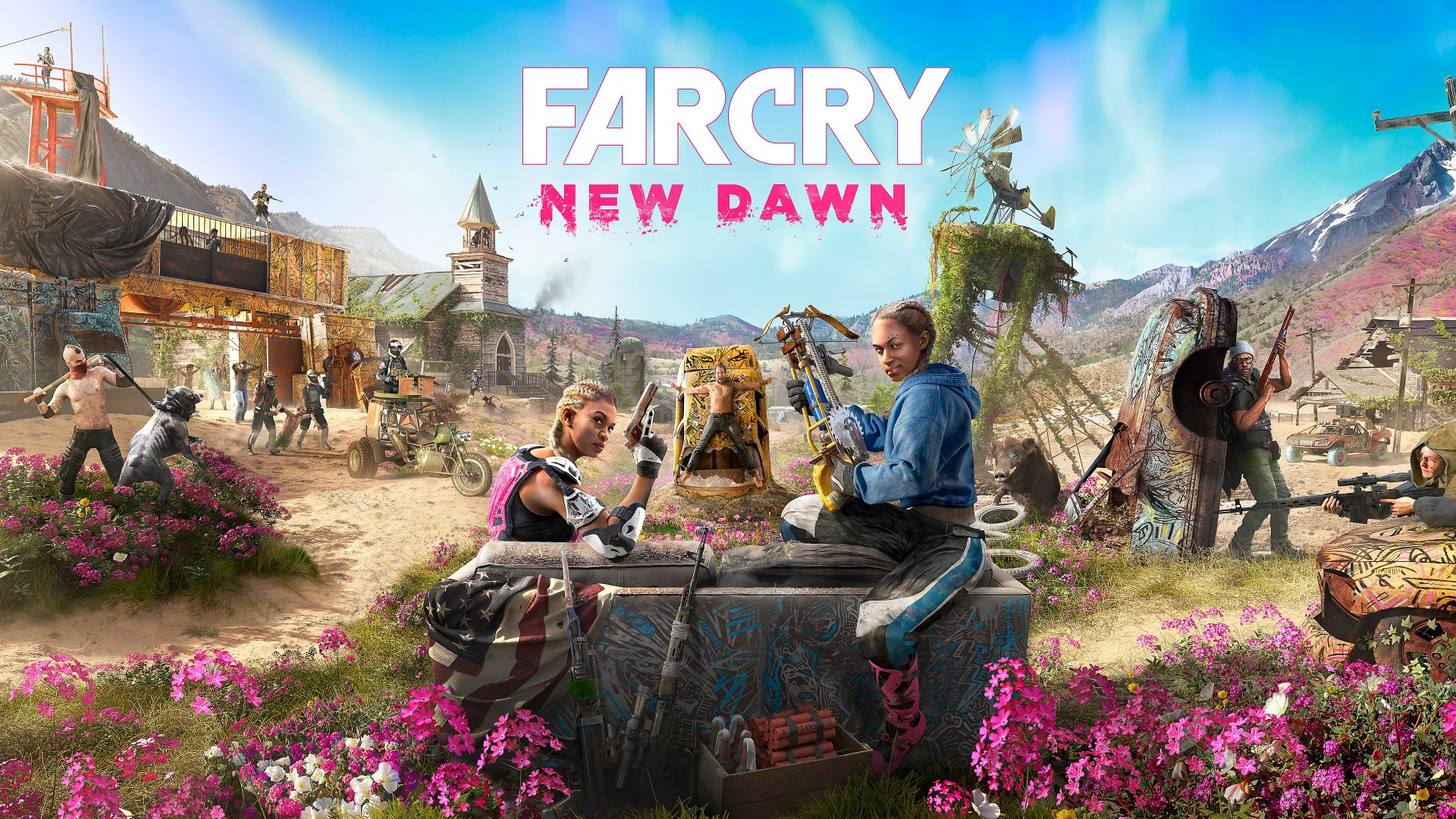 Mario Iphone Wallpaper Hd Far Cry New Dawn Cover Art 2019 Game 4k Wallpapers Hd