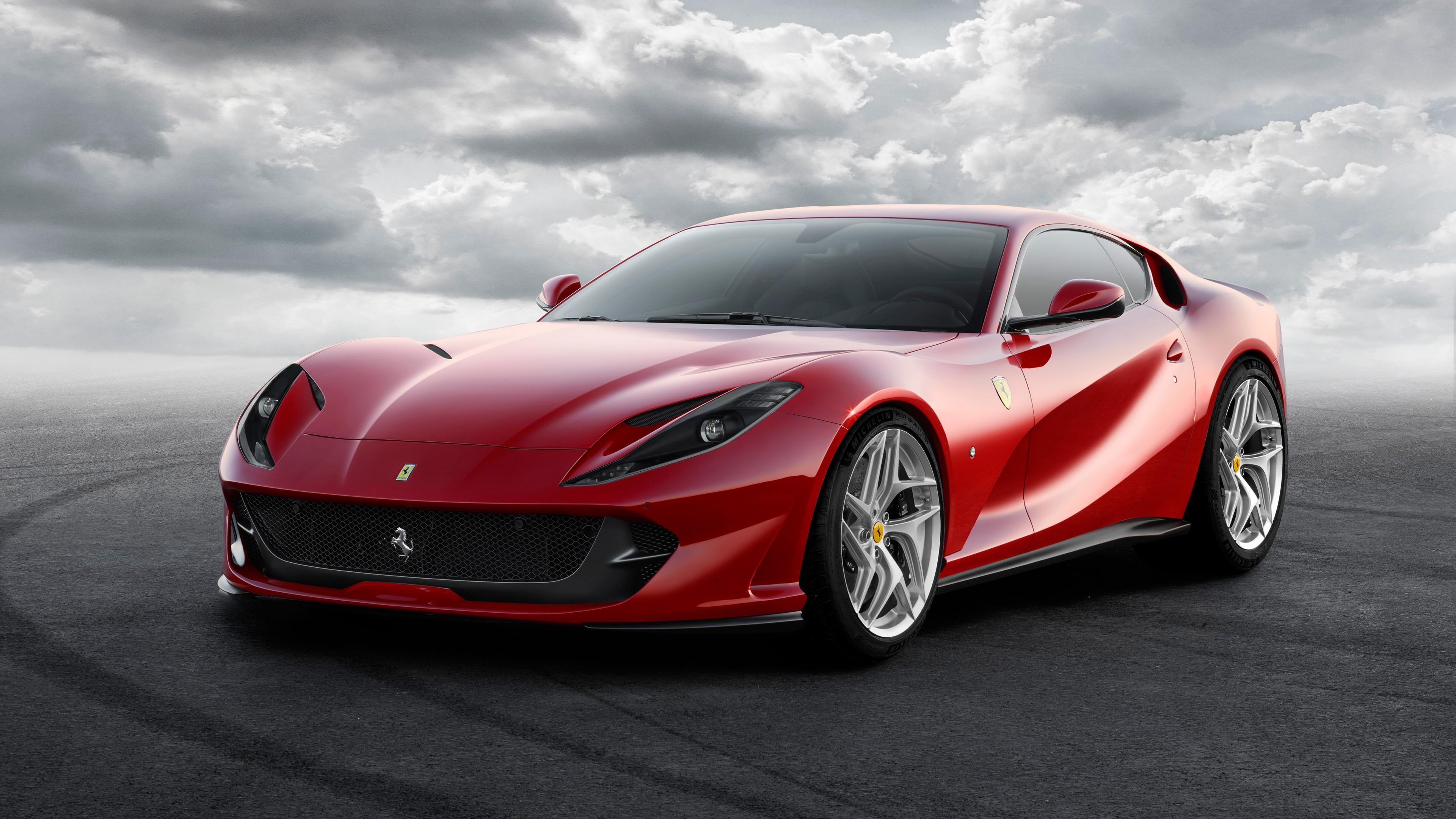 Ferrari Sports Cars Wallpapers Hd Ferrari 812 Superfast 2017 4k Wallpapers Hd Wallpapers