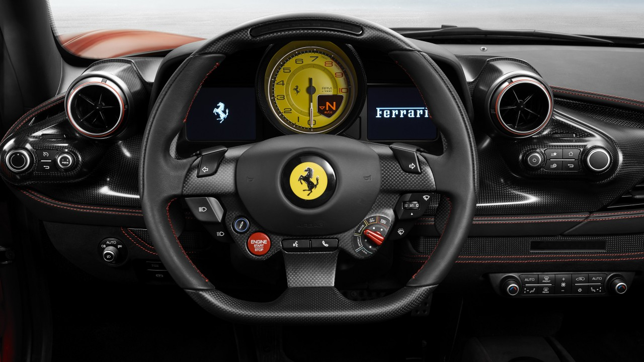 Apple Iphone X Wallpaper Ferrari F8 Tributo 2019 Interior 5k Wallpapers Hd