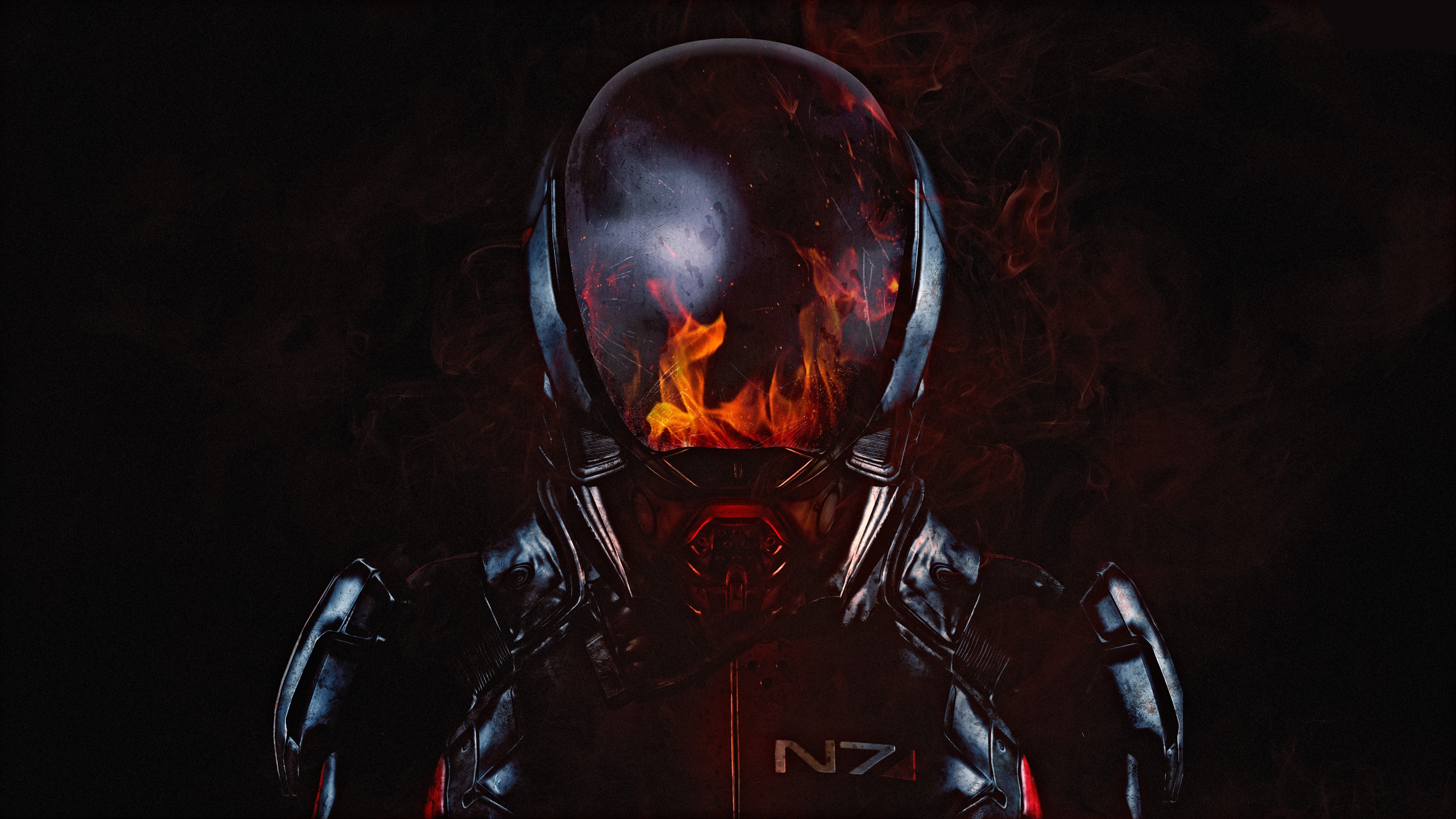 Jarvis Iphone Wallpaper Fire Mass Effect Andromeda 4k Wallpapers Hd Wallpapers
