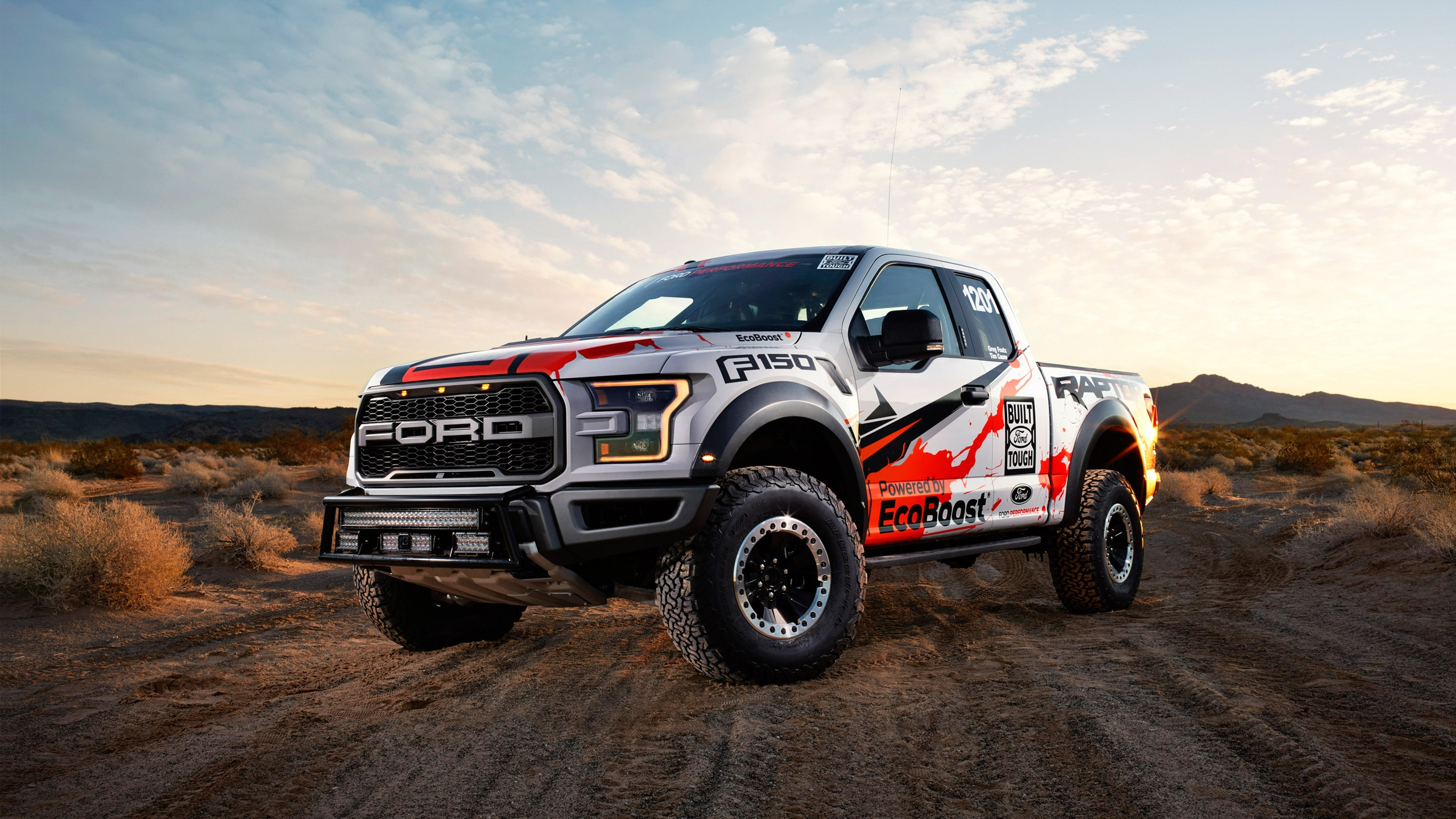 4k Wallpaper Muscle Car Ford F 150 Raptor 2016 Wallpapers Hd Wallpapers Id 17843