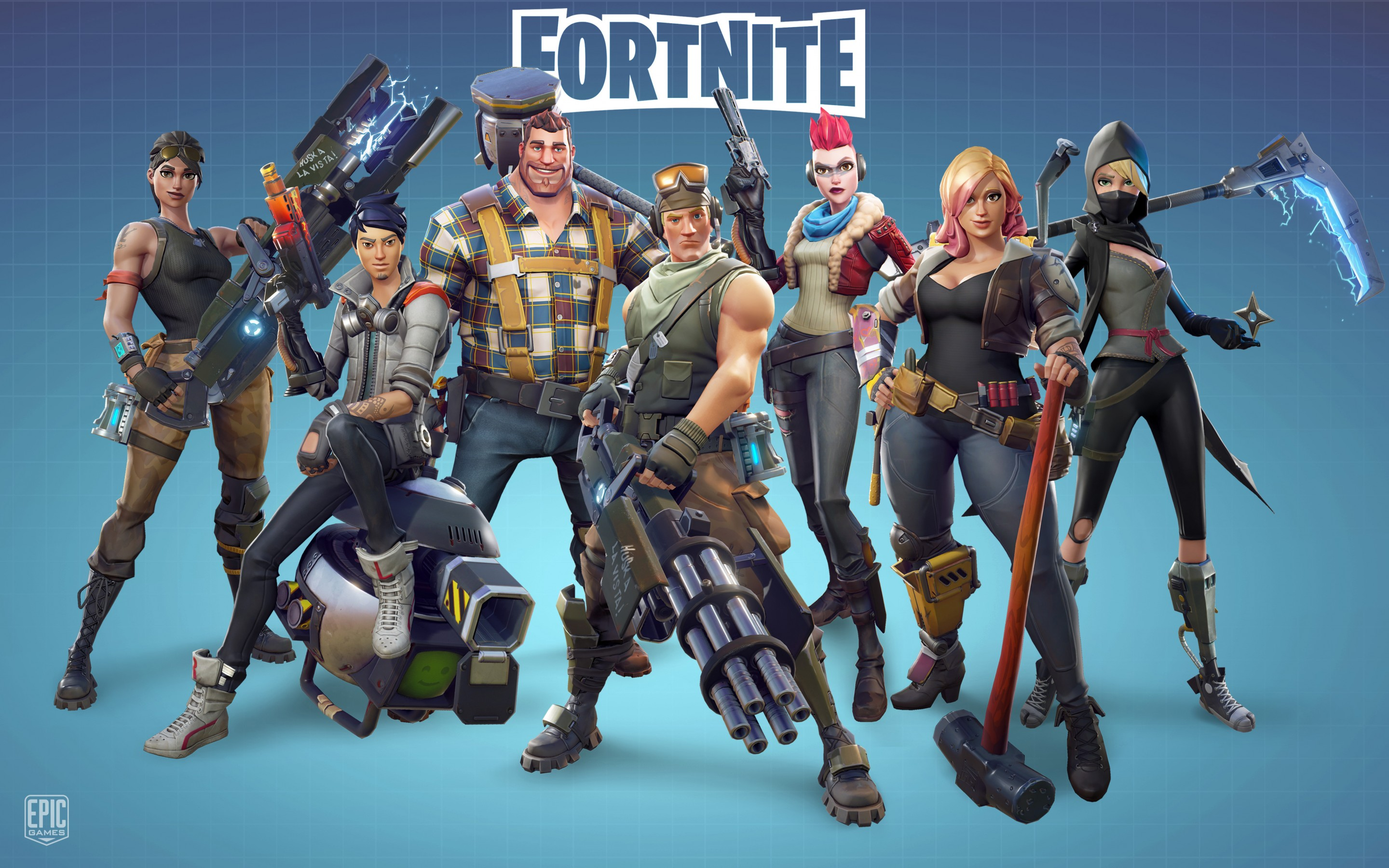 Iphone X Fortnite Wallpapers Fortnite Game 2017 5k Wallpapers Hd Wallpapers Id 21004