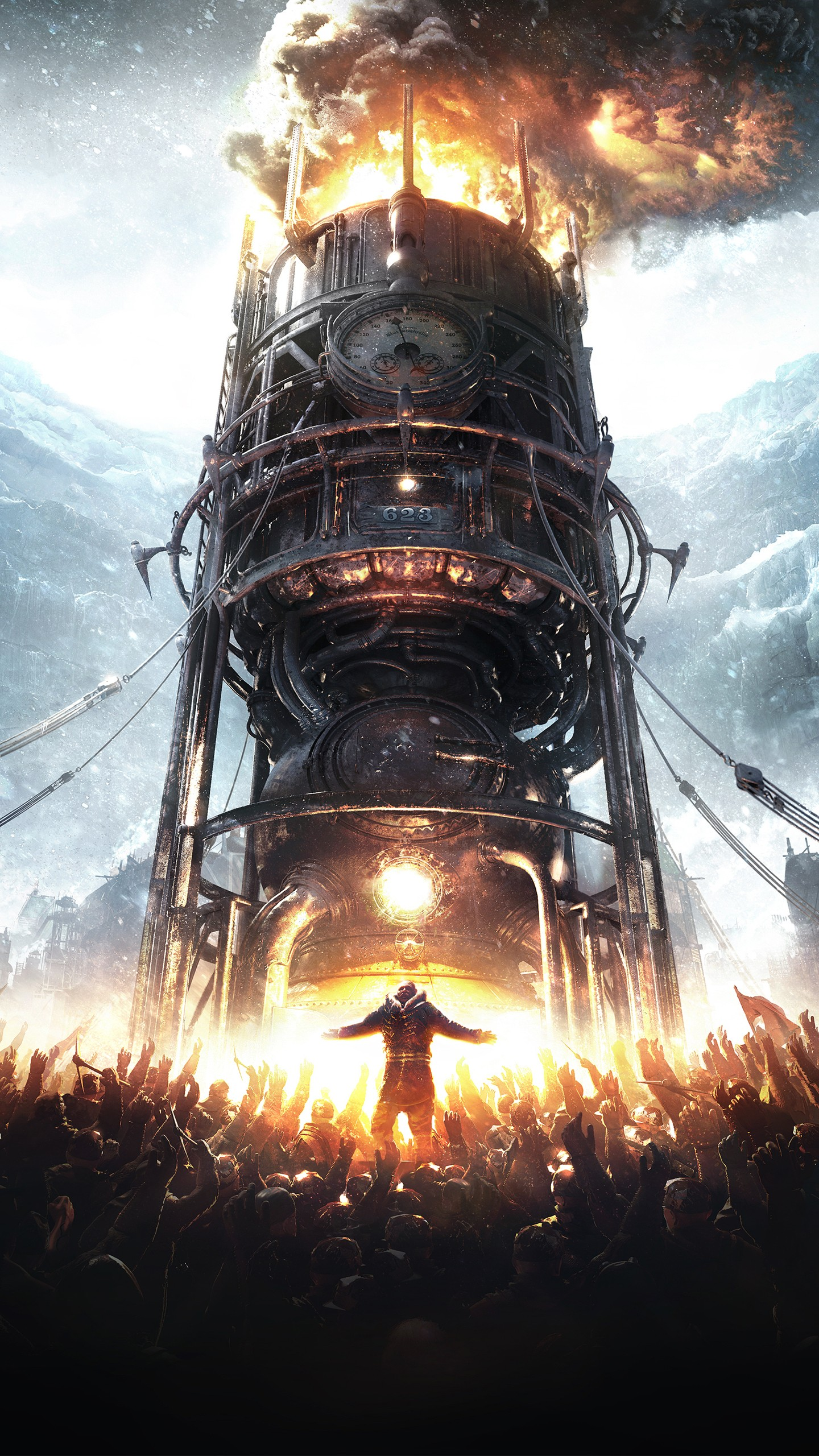 Ultra Hd Wallpapers For Iphone Frostpunk 2018 Game Wallpapers Hd Wallpapers Id 23754