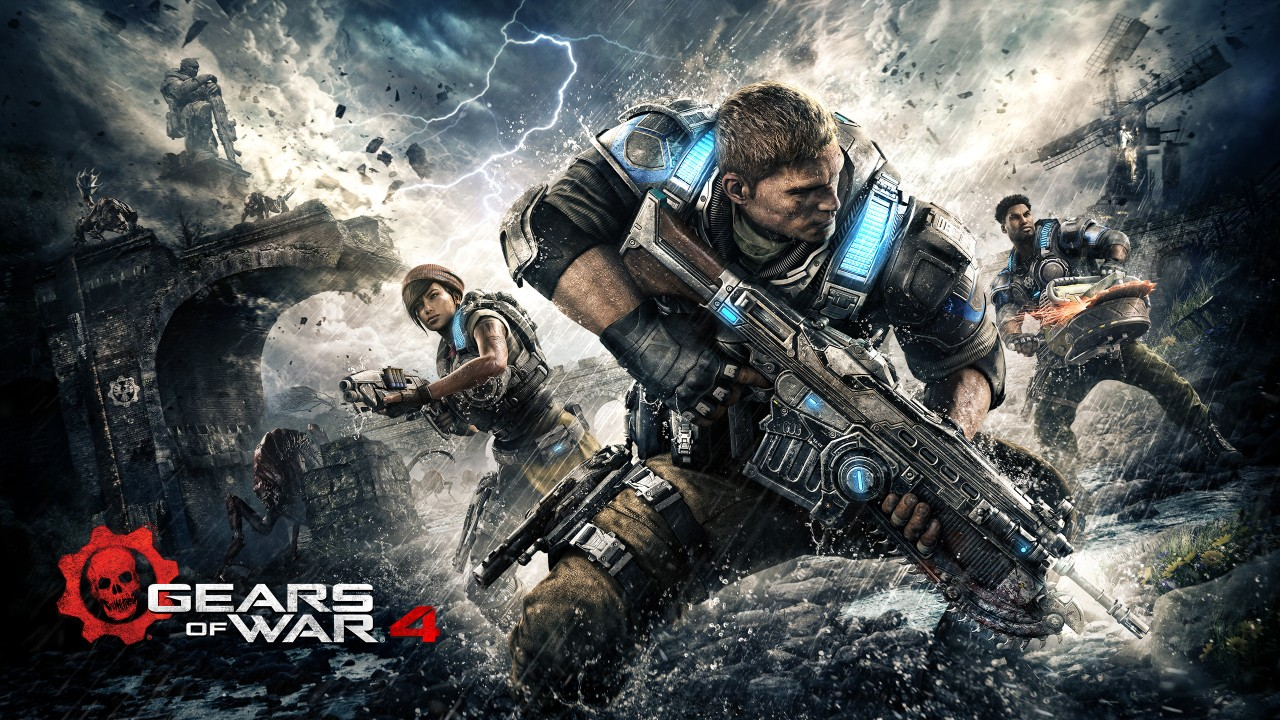3d Wallpaper Iphone X Gears Of War 4 Kait Jd Del Wallpapers Hd Wallpapers Id
