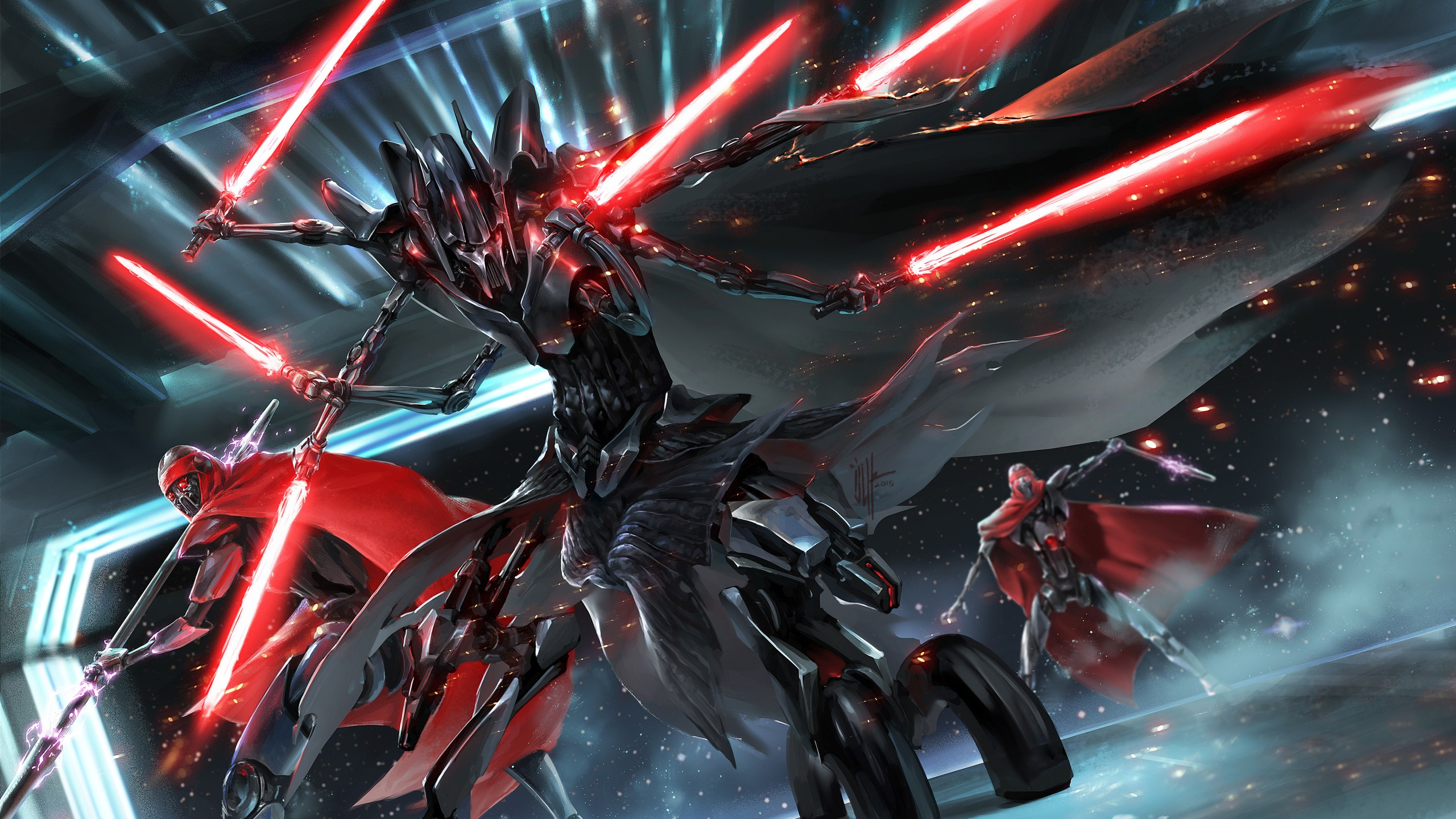 3d Wallpaper For Ipad General Grievous Star Wars Wallpapers Hd Wallpapers Id