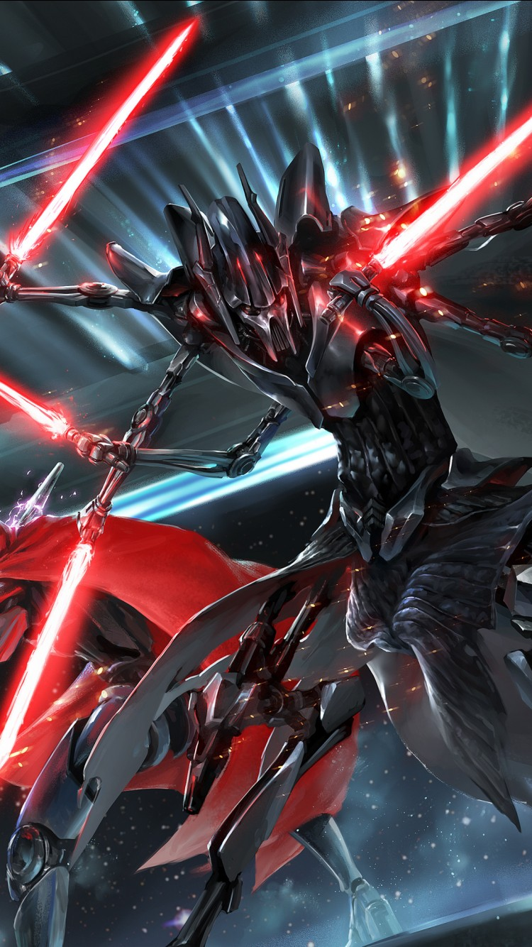 Iphone Vs Android Wallpaper General Grievous Star Wars Wallpapers Hd Wallpapers Id