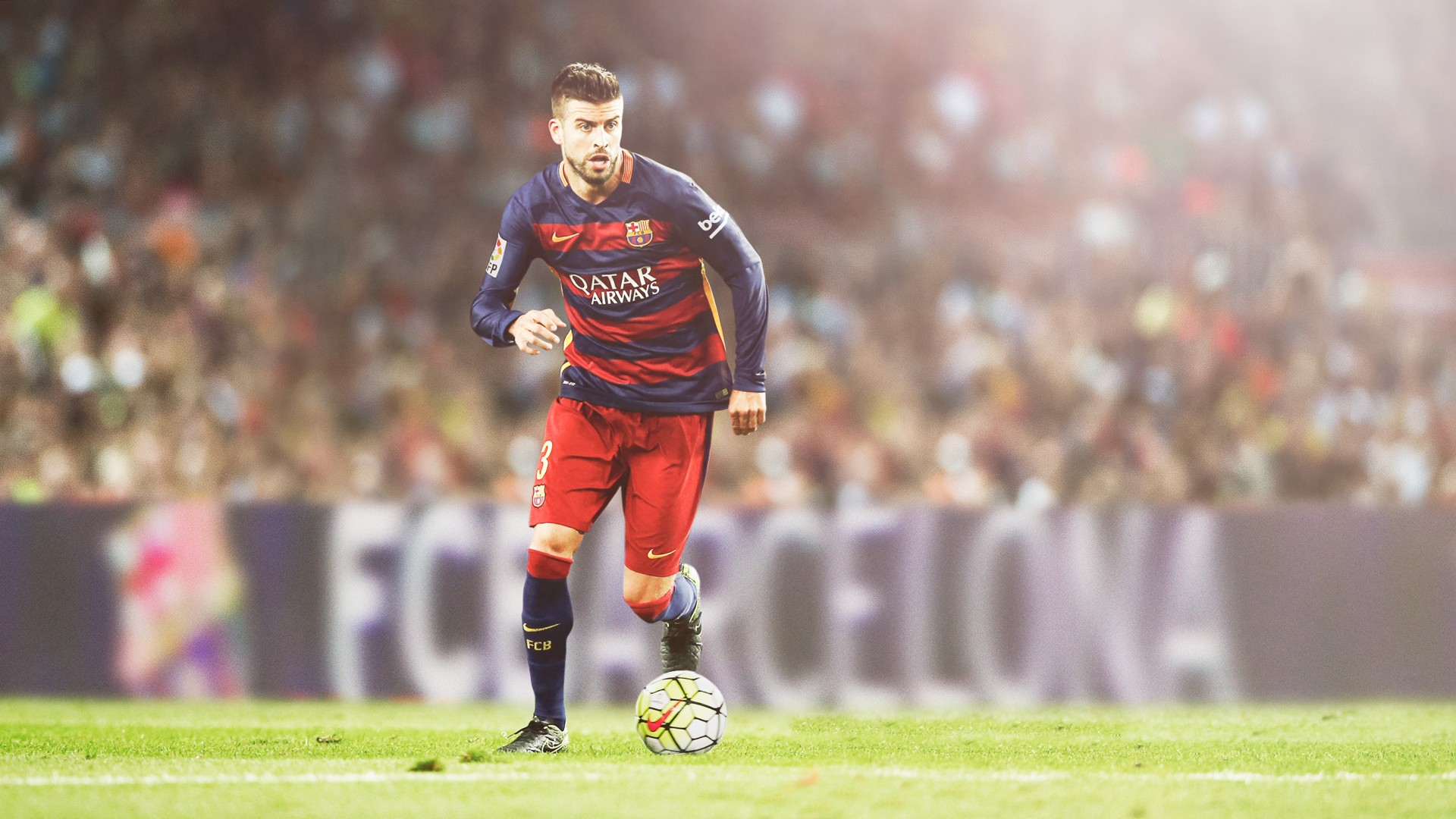 3d Wallpapers Messi Gerard Pique Fc Barcelona Hd Wallpapers Hd Wallpapers