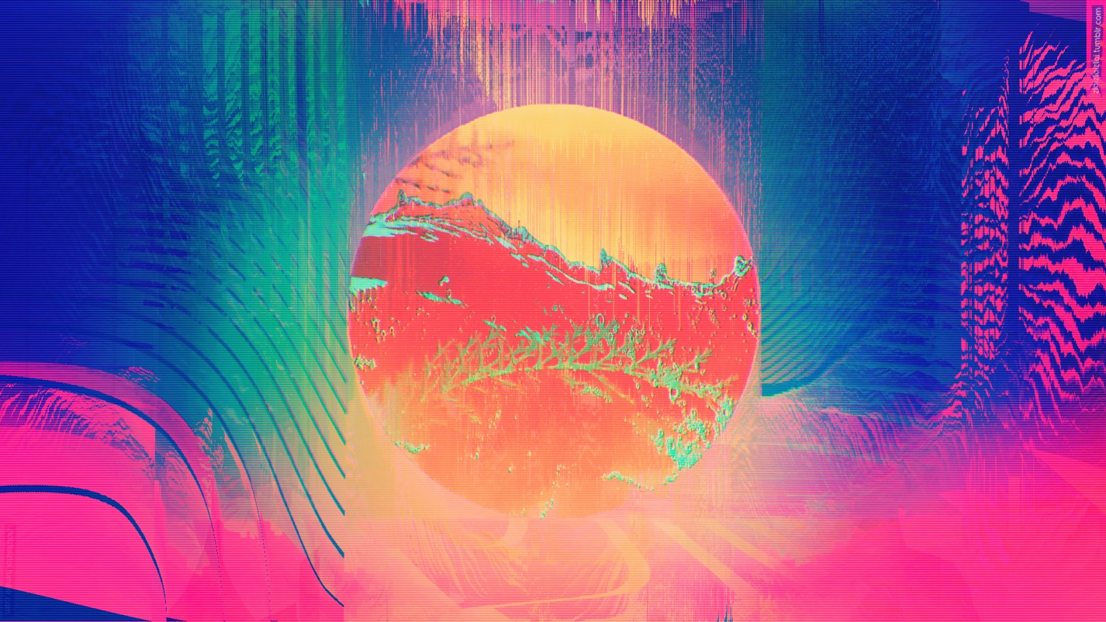Lsd Wallpaper Iphone Glitch Art Wallpapers Hd Wallpapers Id 23749