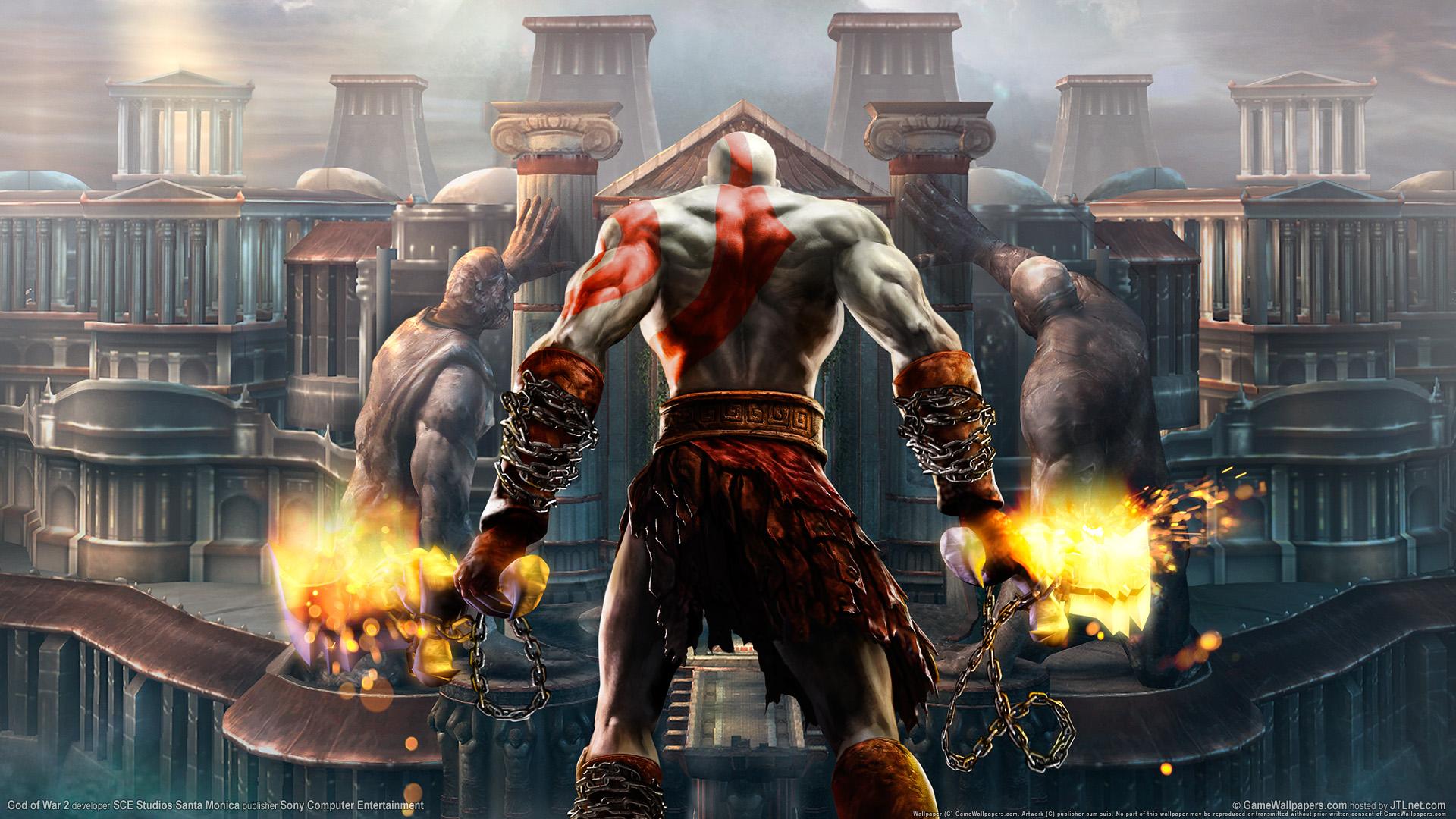 God Of War Wallpaper Hd 3d Download God Of War 2 Hd Wallpapers Hd Wallpapers Id 1648