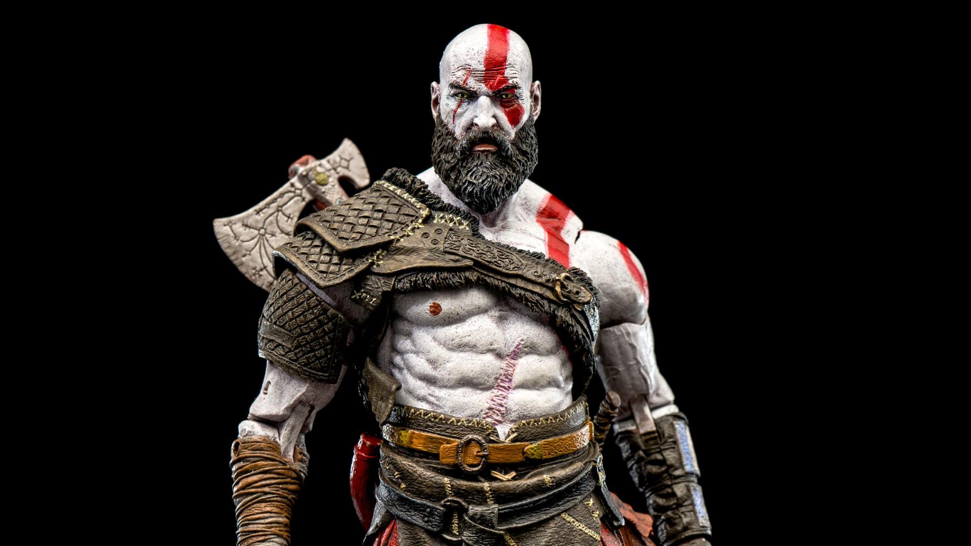 Kratos Wallpaper Hd 3d God Of War Kratos 2018 4k Wallpapers Hd Wallpapers Id