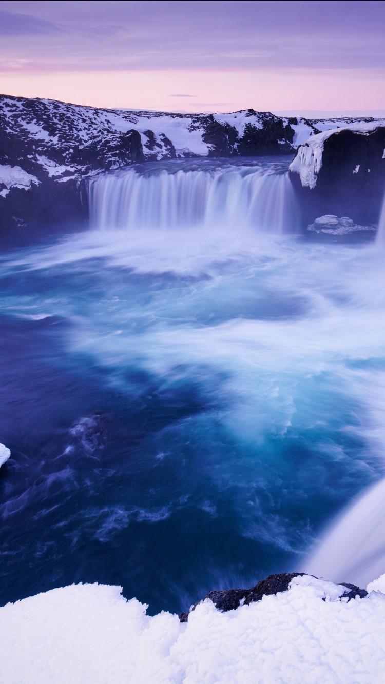 Wallpaper Of Water Fall Godafoss Waterfall Iceland 4k 8k Wallpapers Hd