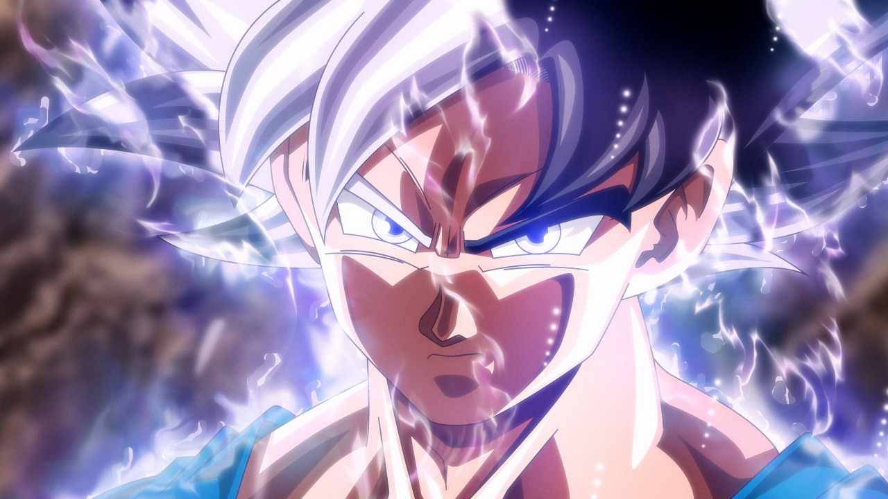 Girl 3 Monitor Wallpaper Goku Ultra Instinct 4k Wallpapers Hd Wallpapers Id 24478