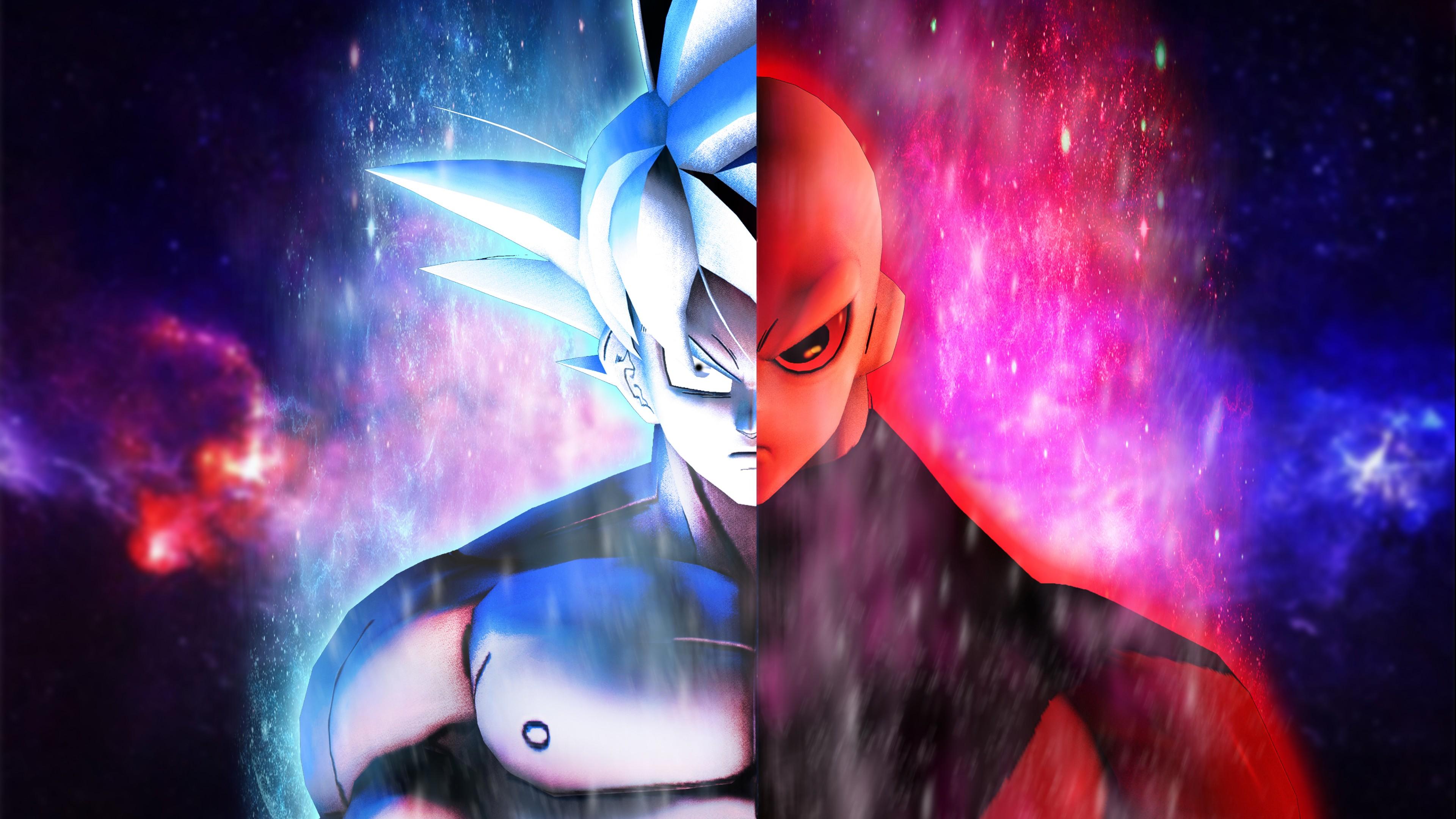 Goku Live Wallpaper Iphone 7 Plus Goku Vs Jiren 5k Wallpapers Hd Wallpapers Id 25949