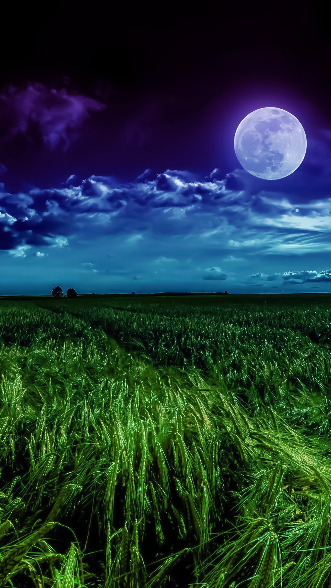 Desktop Wallpaper For Windows 7 Cars Grass Field Moon 4k Wallpapers Hd Wallpapers Id 25893