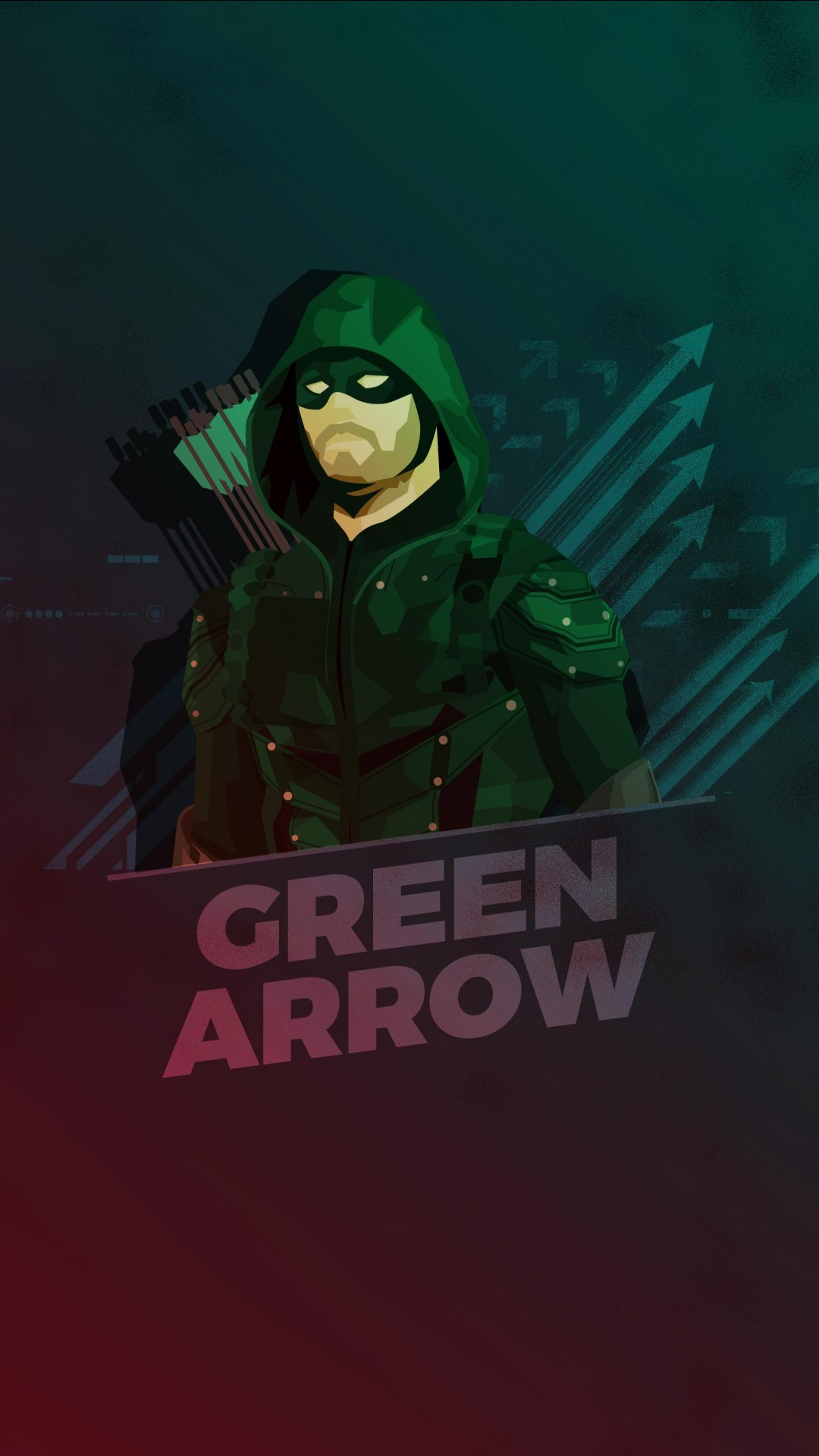 Top Hd 3d Wallpaper For Mobile Green Arrow Minimal Artwork Hd Wallpapers Hd Wallpapers