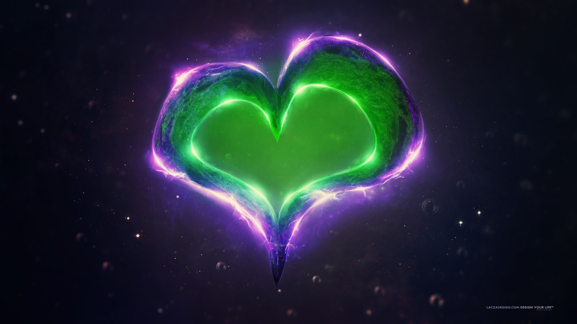 Cool Neon Cars Wallpapers Green Purple Love Heart Wallpapers Hd Wallpapers Id 18489