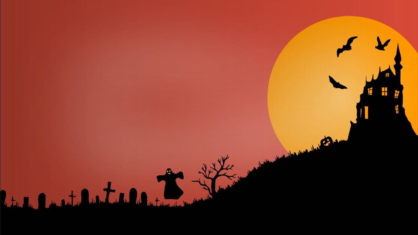 3d Graphic Wallpaper 1280x1024 Halloween Scary Castle Wallpapers Hd Wallpapers Id 18795