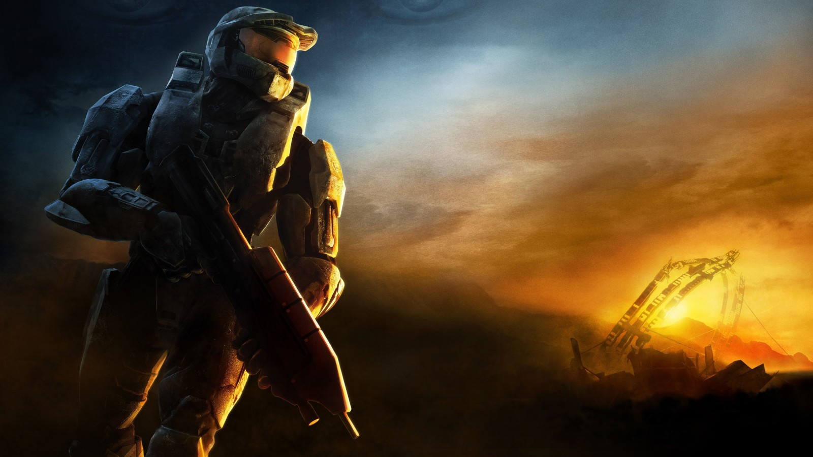 God Of War D Halo 3 Game Wallpapers Hd Wallpapers Id 9963