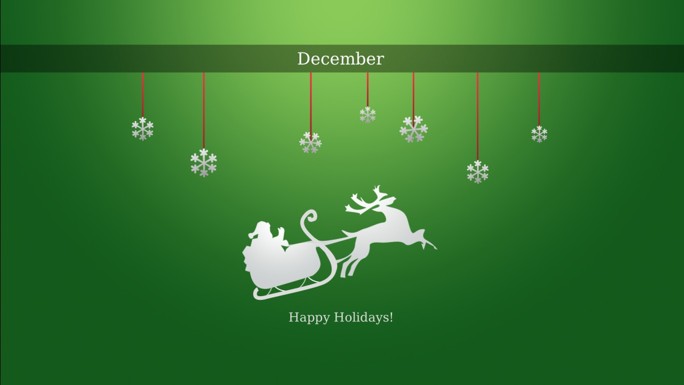 Minimalist Iphone X Wallpaper Happy December Holidays Wallpapers Hd Wallpapers Id 12016
