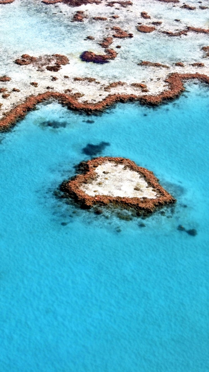 Iphone 5s Wallpapers Full Hd Heart Reef Great Barrier Reef Wallpapers Hd Wallpapers
