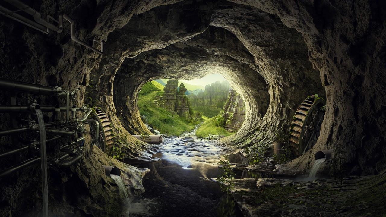 Fall Deer Wallpaper Heaven Tunnel 4k Wallpapers Hd Wallpapers Id 23964
