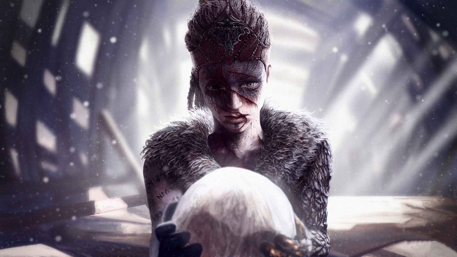 Top 10 3d Wallpapers For Android Hellblade Senuas Sacrifice Hd Wallpapers Hd Wallpapers