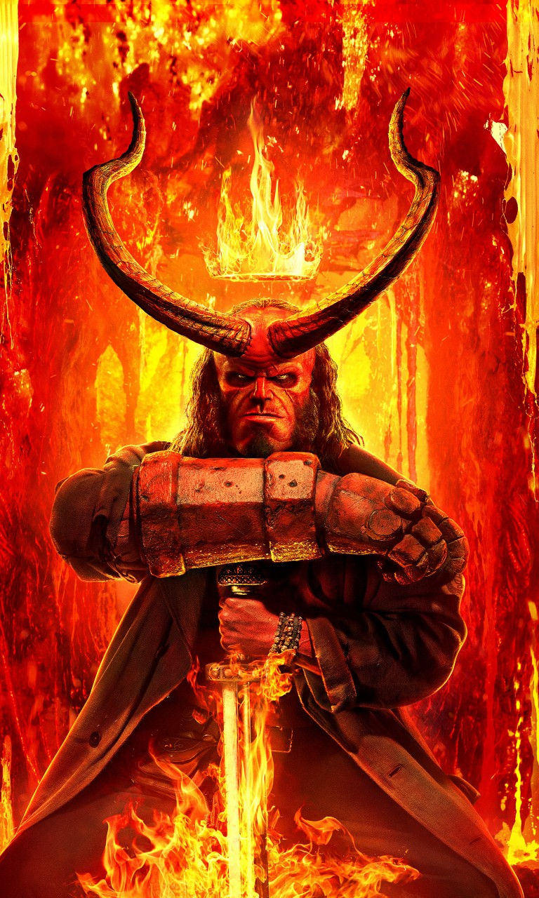 Pirates Of The Caribbean 3d Wallpapers Hellboy 2019 4k Wallpapers Hd Wallpapers Id 27768