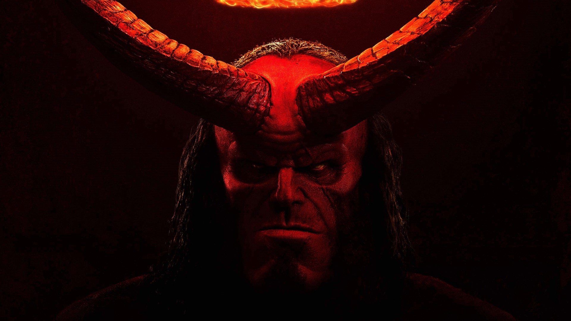 I Phone X Inside 3d Wallpaper Hellboy 2019 Movie 4k Wallpapers Hd Wallpapers Id 27056