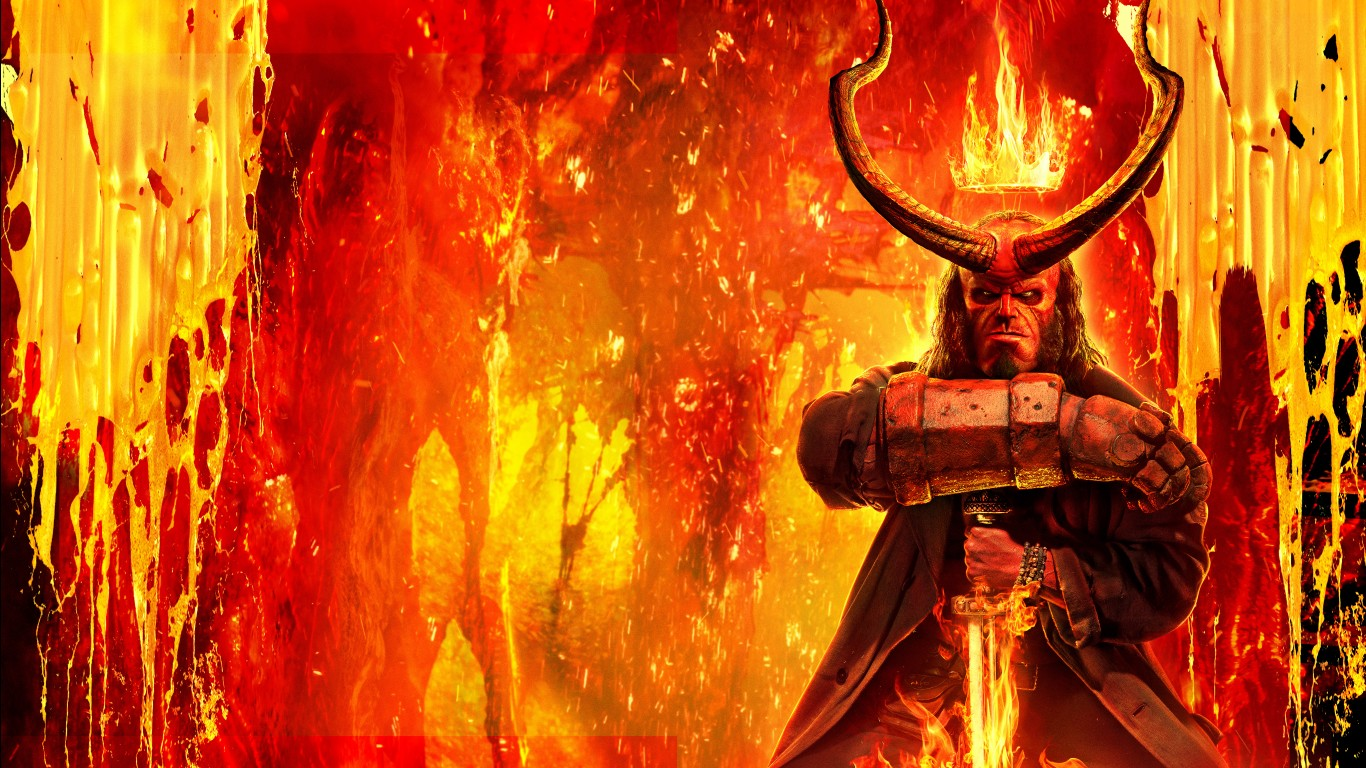 Pirates Of The Caribbean 3d Wallpapers Hellboy Movie 2019 4k 8k Wallpapers Hd Wallpapers Id
