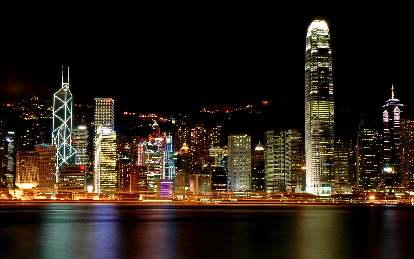 Love Wallpaper Iphone X Hong Kong Victoria Harbour Wallpapers Hd Wallpapers Id
