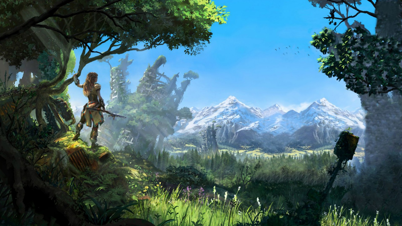 Hd Android Wallpapers 3d Horizon Zero Dawn 2016 Game Wallpapers Hd Wallpapers