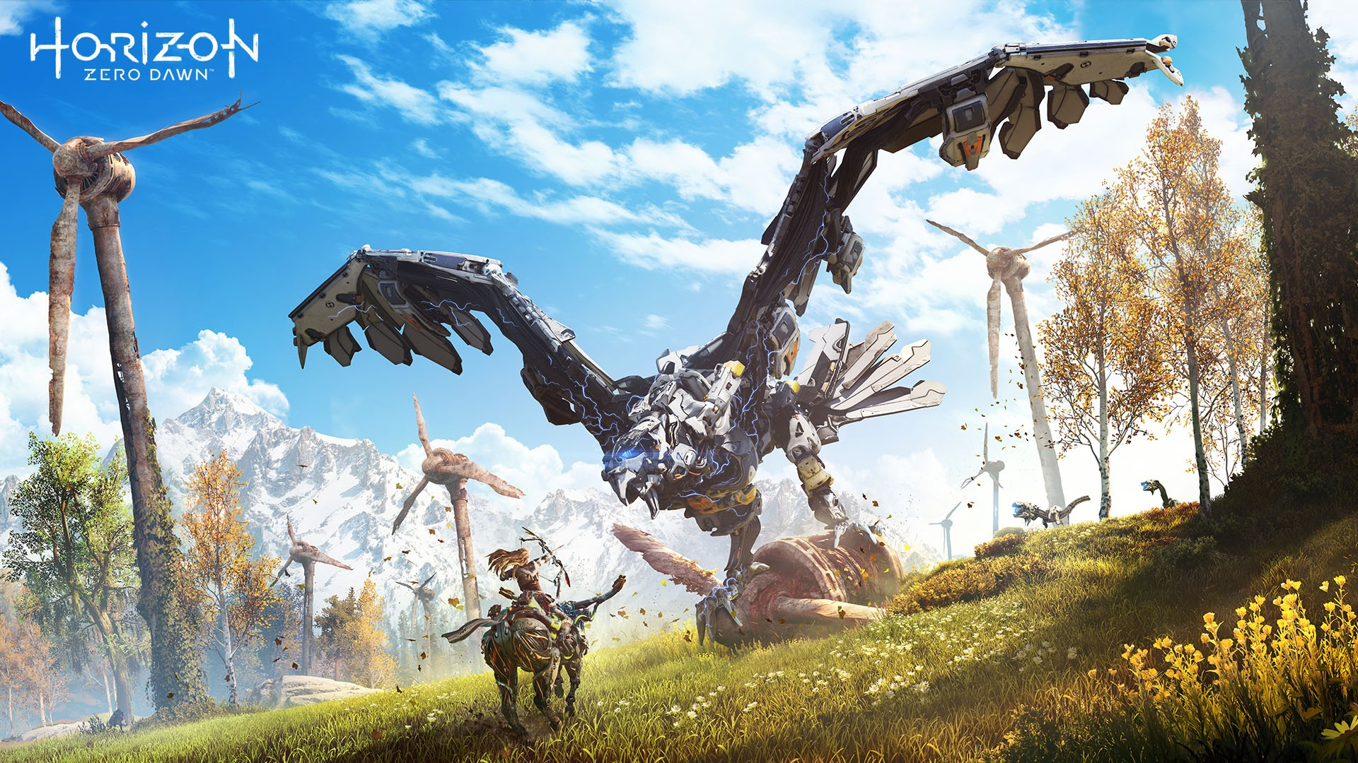 Top 10 3d Wallpapers Horizon Zero Dawn Thunderhawk Wallpapers Hd Wallpapers