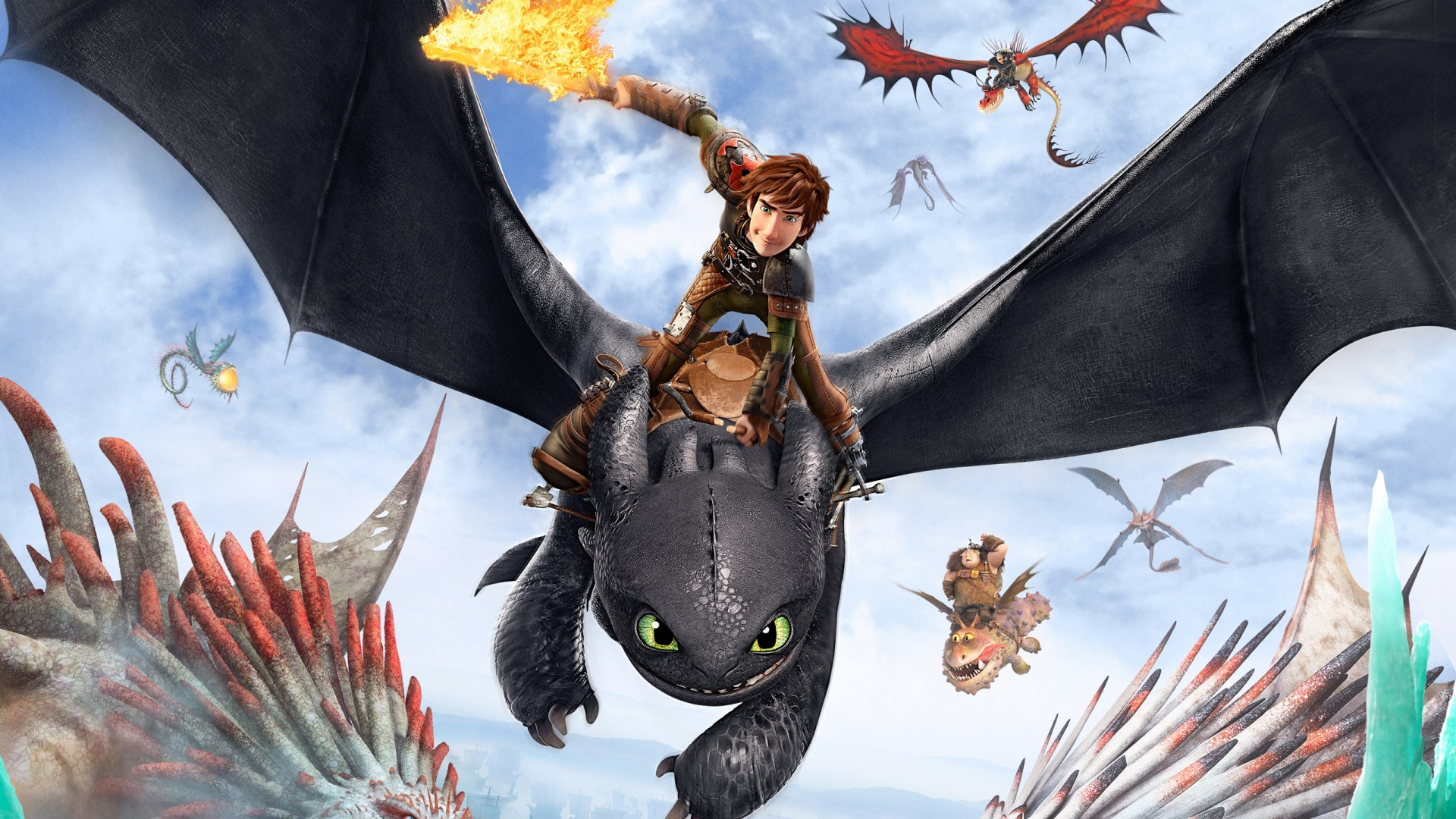 Download Wallpapers Cars Hd How To Train Your Dragon 2 Poster Wallpapers Hd