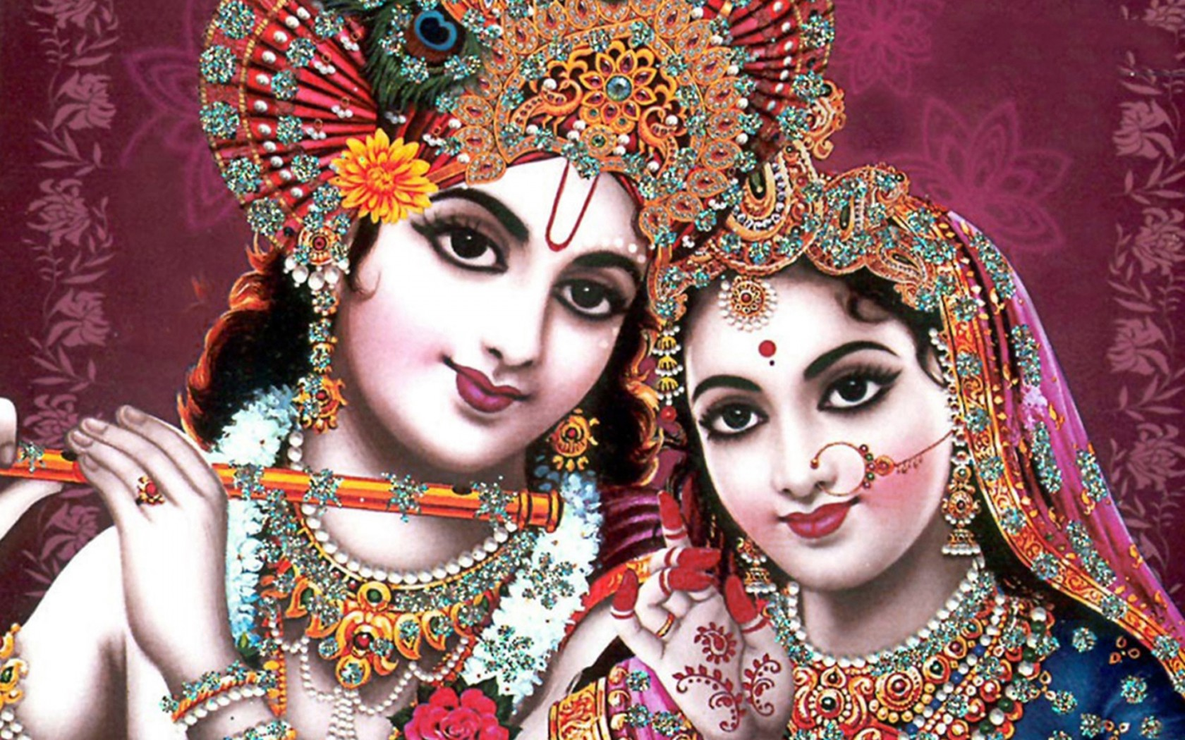 Krishna And Radha 3d Wallpaper Indian God Radha Krishna Wallpapers Hd Wallpapers Id