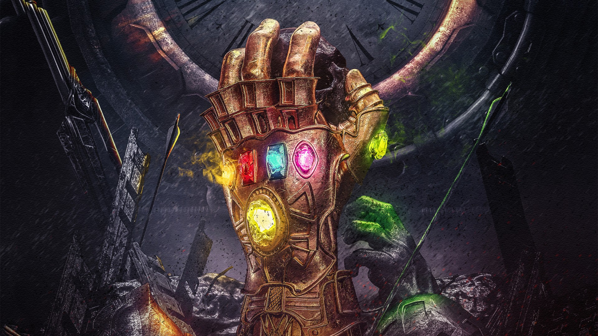 Moving Wallpapers For Iphone 6s Infinity Gauntlet Wallpapers Hd Wallpapers Id 24855