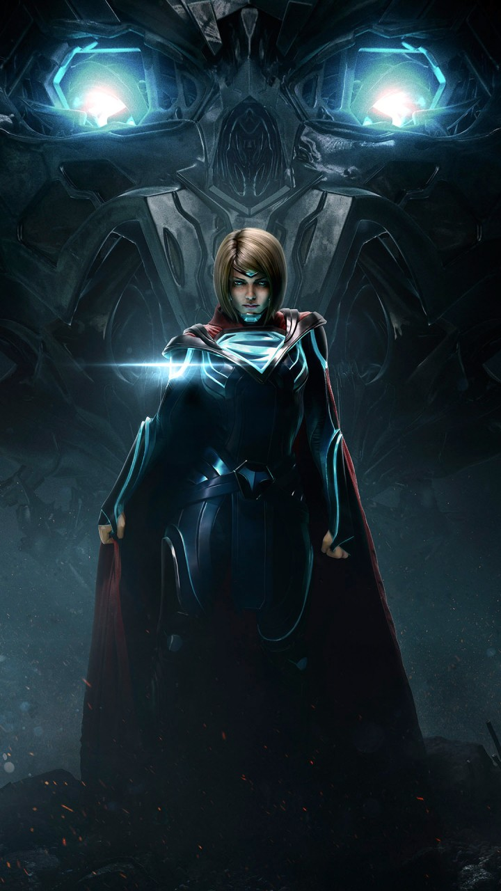 Apple Hd Wallpaper Iphone 7 Injustice 2 Supergirl Wallpapers Hd Wallpapers Id 19594