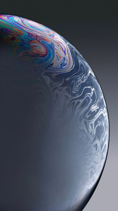 iPhone XR Grey Bubble Stock Wallpapers | HD Wallpapers | ID #25901