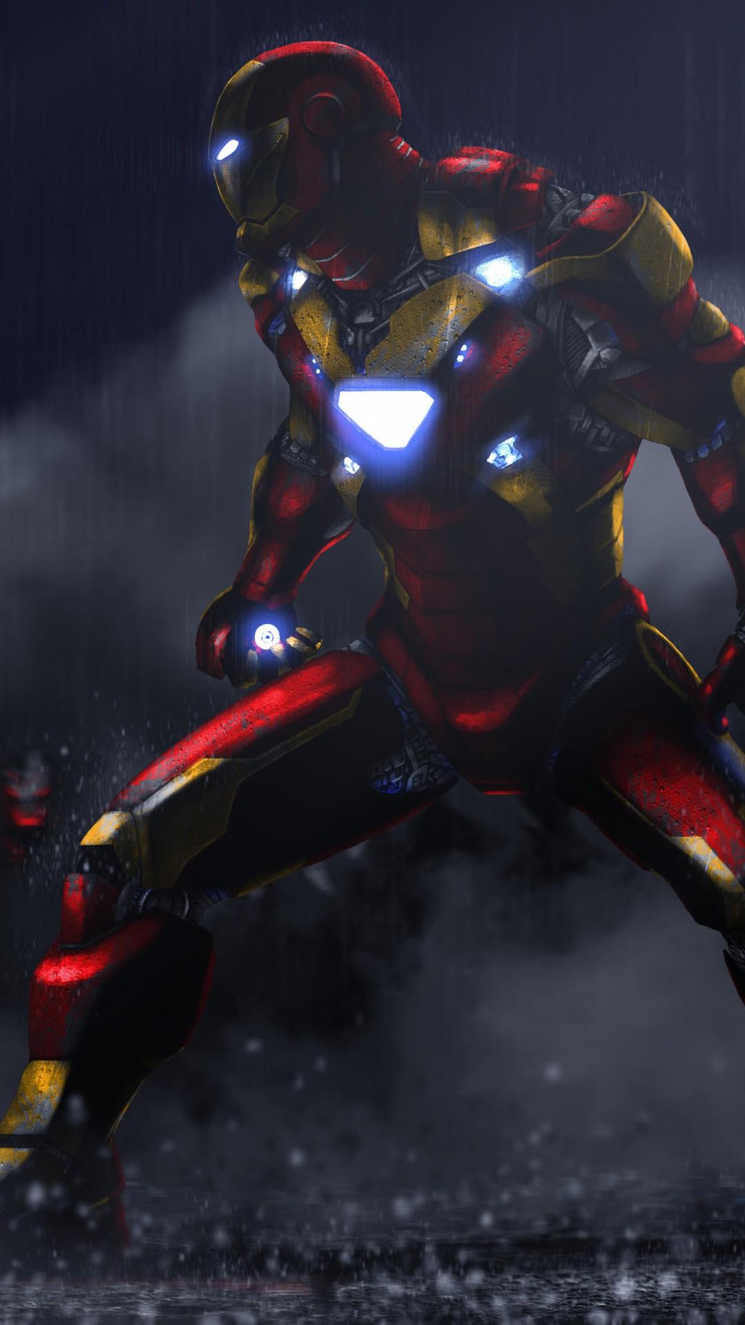 Iron Man 3d Wallpaper Android Iron Man Vs Ultron Sentries Wallpapers Hd Wallpapers