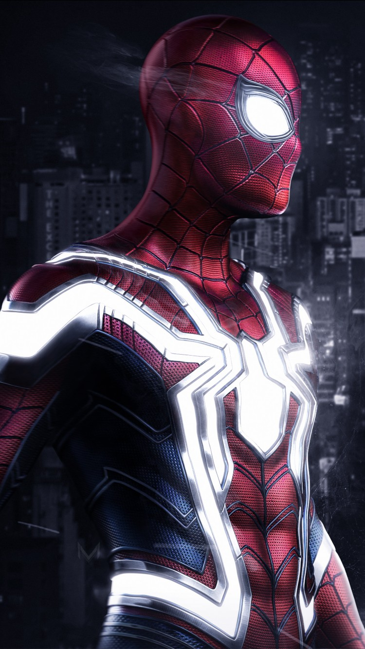 Cool Wallpapers For Iphone 7 Iron Spider Artwork 4k Wallpapers Hd Wallpapers Id 24564