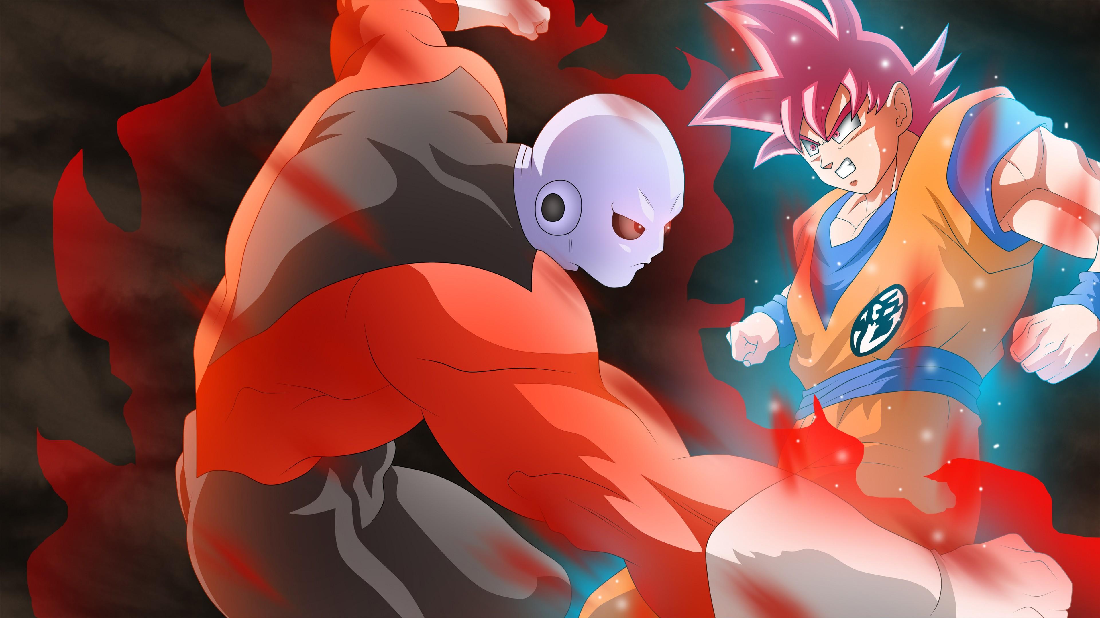 Iphone Vs Android Wallpaper Jiren Vs Goku Dragon Ball Super Wallpapers Hd Wallpapers