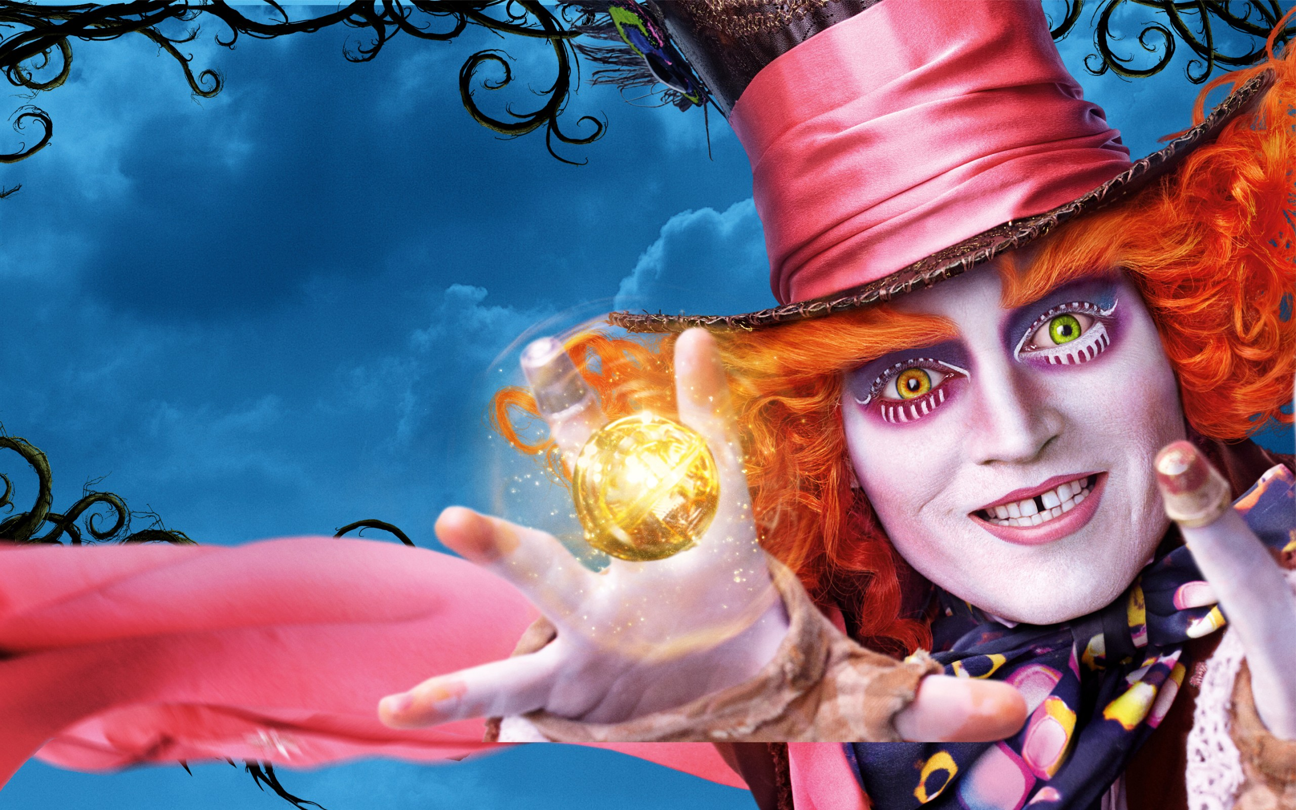 Glass Animals Wallpaper Johnny Depp Alice Through The Looking Glass Wallpapers