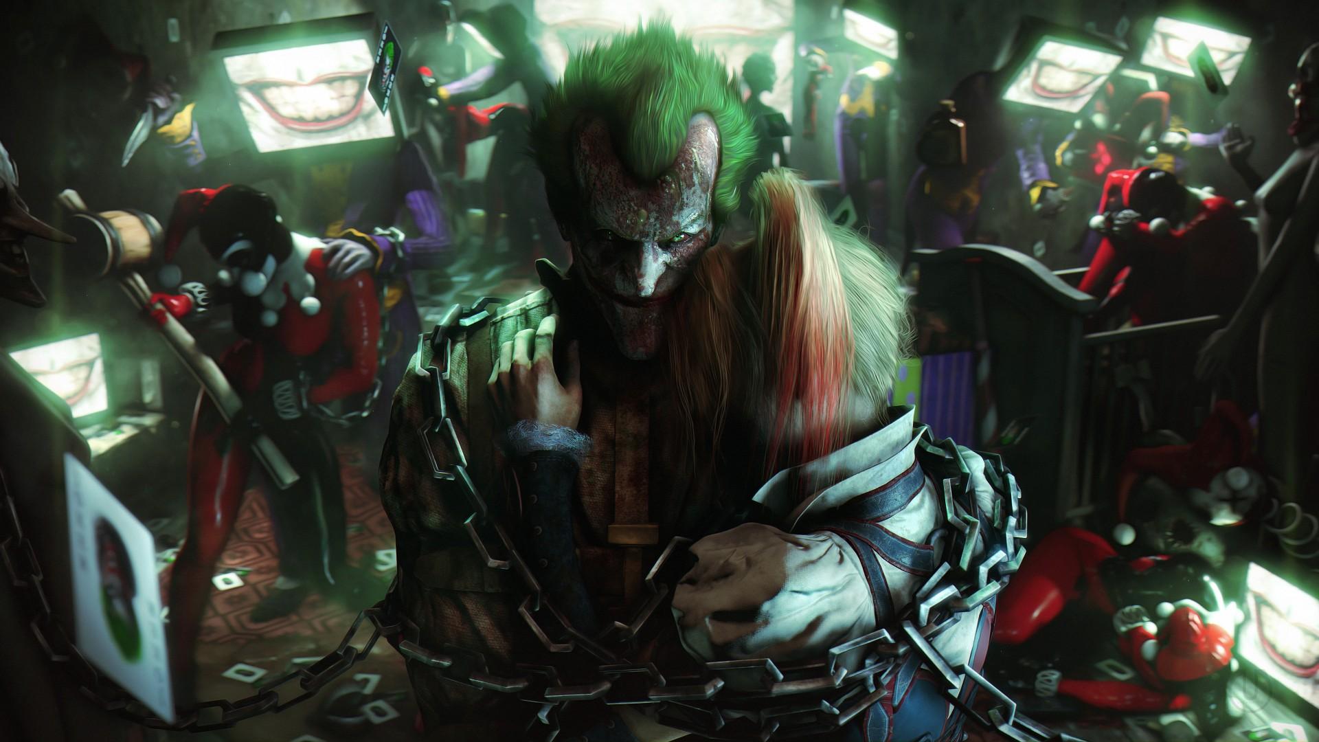 Game Cars Hd Wallpapers Joker Harley Quinn Artwork 4k Wallpapers Hd Wallpapers