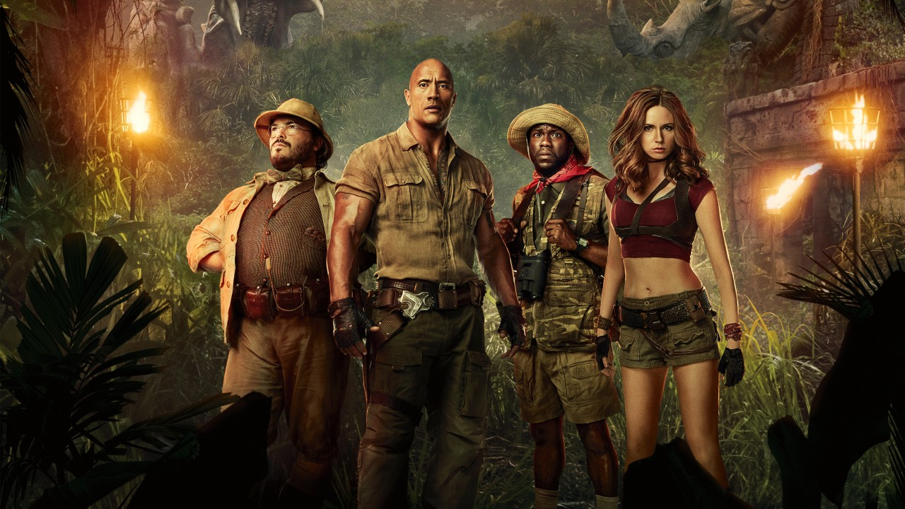 Apple Wallpaper Iphone 7 Hd Jumanji Welcome To The Jungle 2017 Movie Wallpapers Hd