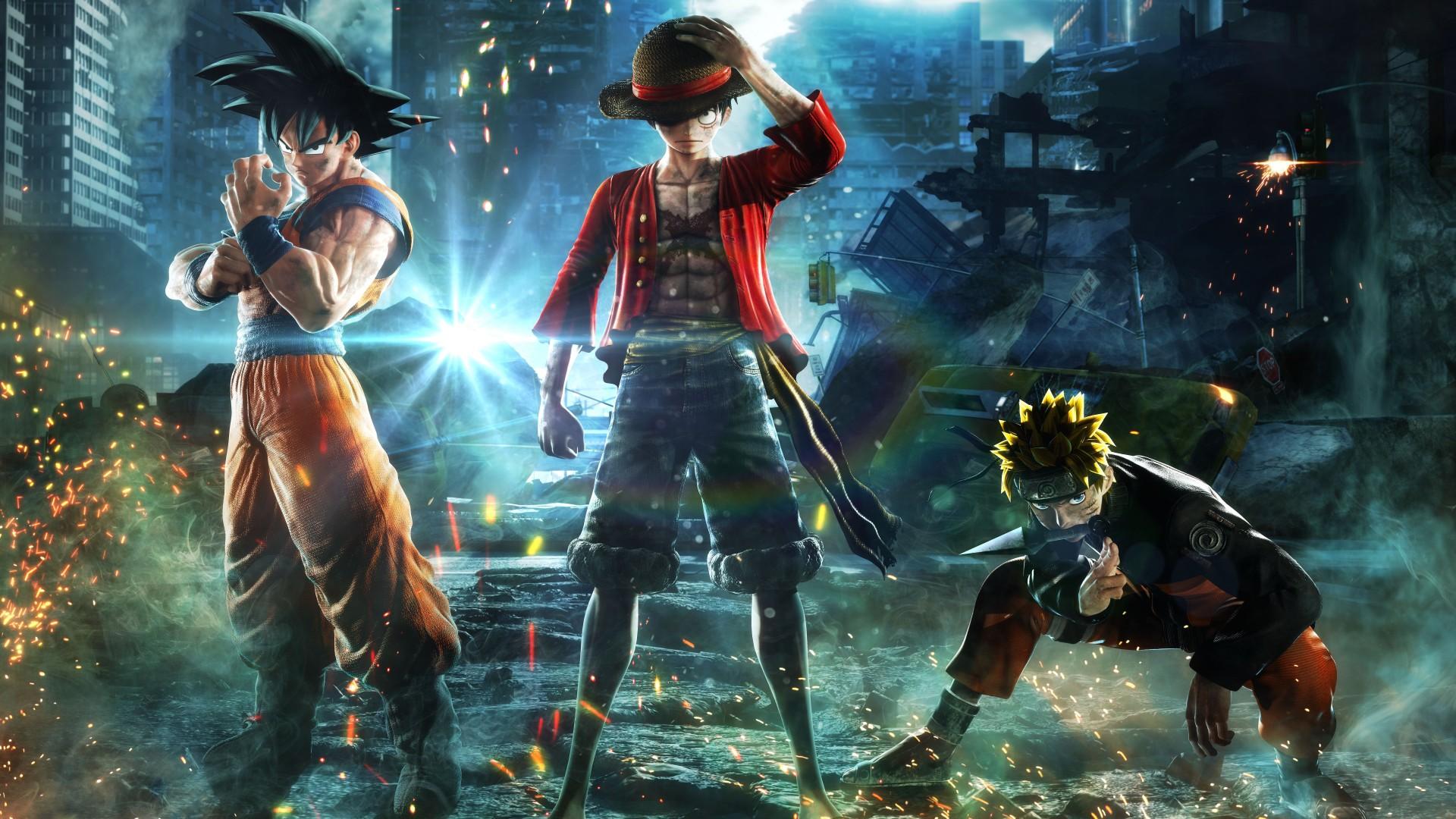 Naruto Wallpaper 3d Jump Force Goku Naruto Luffy 4k 8k Wallpapers Hd