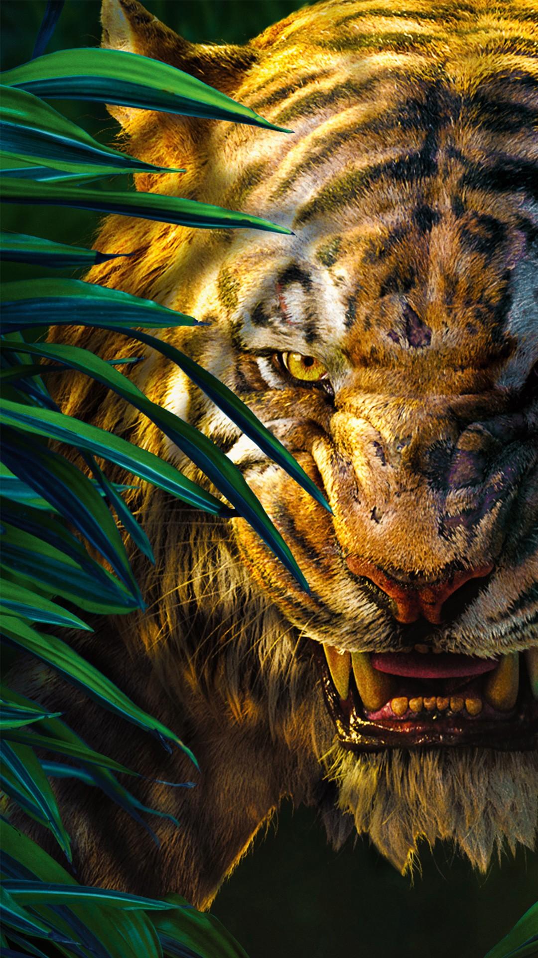 Best 3d Hd Widescreen Wallpapers Jungle Book Shere Khan 5k Wallpapers Hd Wallpapers Id
