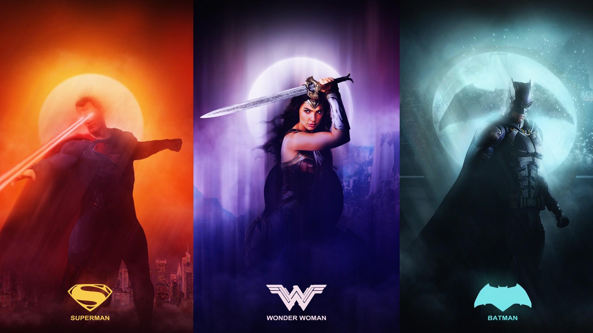 Wallpaper Hd Iphone Cute Men Justice League Superman Wonder Woman Batman 4k 8k